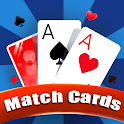 Match Cards Game - Brain Exercise Cards Match Game icon