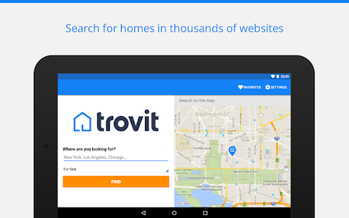 Real Estate sale & rent Trovit- screenshot thumbnail