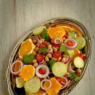 Fruity Channa Salad | Low-Calorie Salad.
