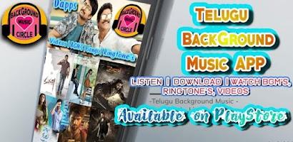 Telugu Background Music Circle - BGM's, Ringtone's - Free