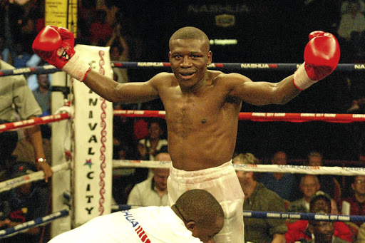 Former IBF junior featherweight champion Vuyani Bungu. / Raymond Preston