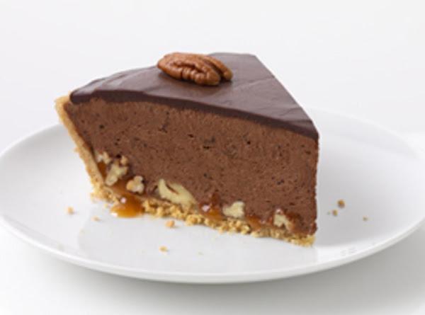 Turtle Pie With Chocolate Glaze Recipe