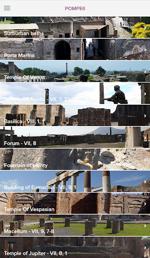 Guide to Pompeii