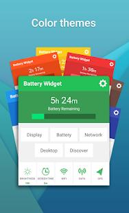 Battery Widget (1x1 widget)- screenshot thumbnail