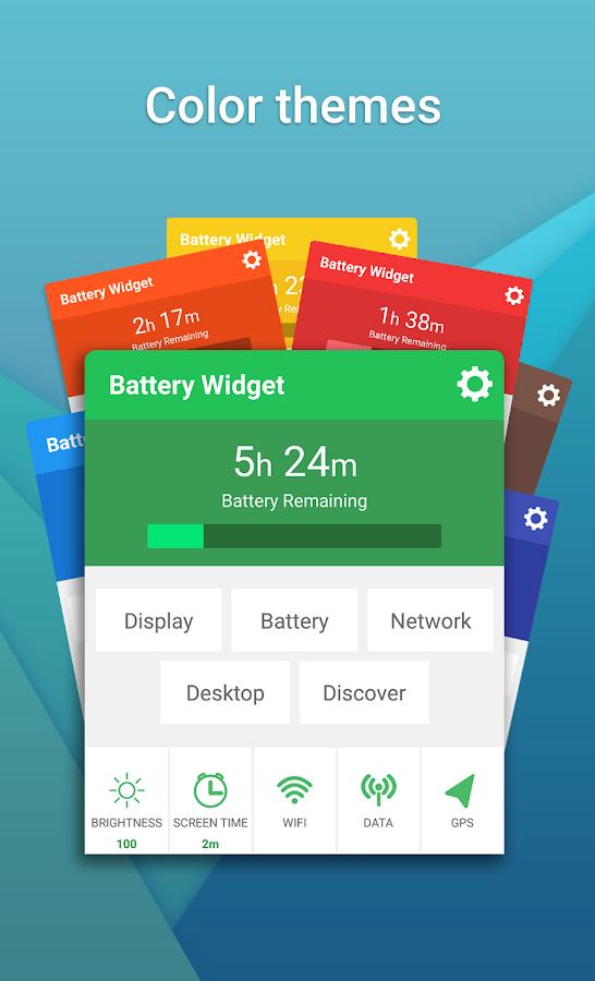 Battery Widget (1x1 widget)- screenshot