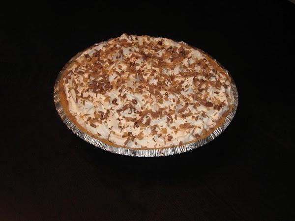 English Toffee Choclate Cream Pie Recipe