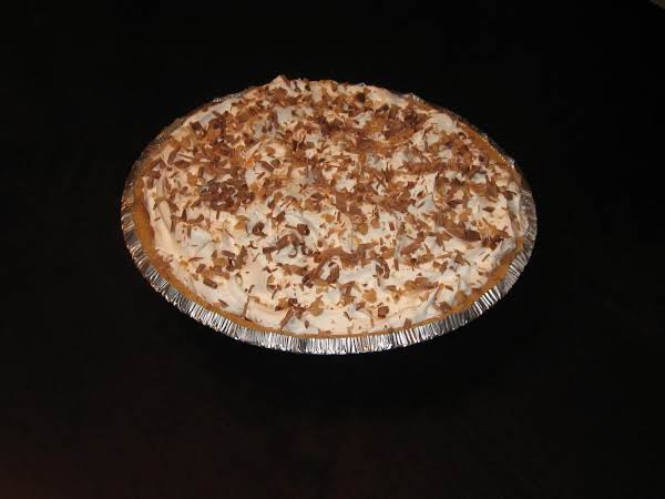 English Toffee Choclate Cream Pie Recipe