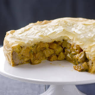 Curried Chicken Pie.