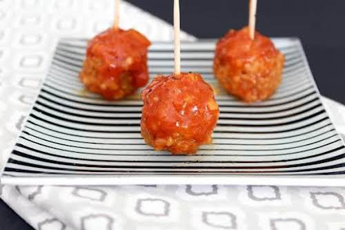 """Zesty and Tangy Meatballs """"These have been a staple at all three..."""