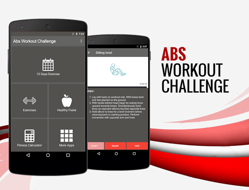 15天腹肌锻炼挑战