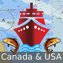 Canada:Marine Navigation Charts &Lake Fishing Maps icon