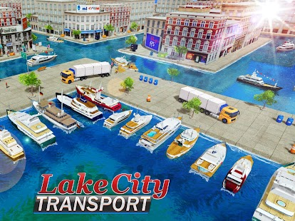 Lake City Cruise Ship Tycoon Passenger Cargo Boats Android Apps - Cruise ship tycoon