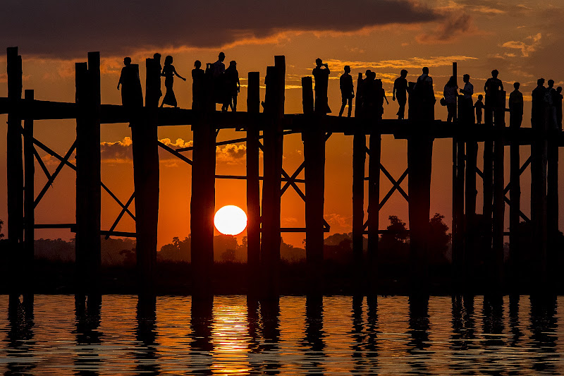 U Bein Bridge di Alida Lazzaro
