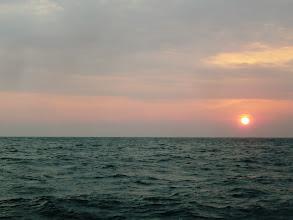 Photo: 日が昇った。 今日も一日よろしくお願いします!