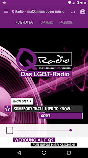 Q Radio – maXXimum queer music- screenshot thumbnail