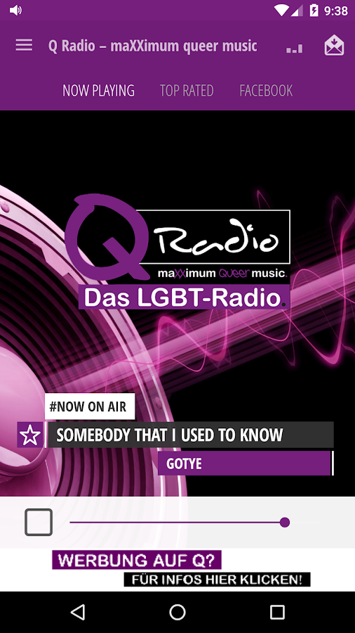 Q Radio – maXXimum queer music- screenshot
