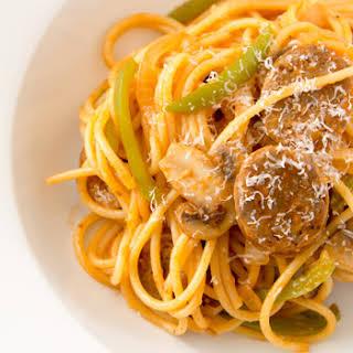 Ketchup Spaghetti.