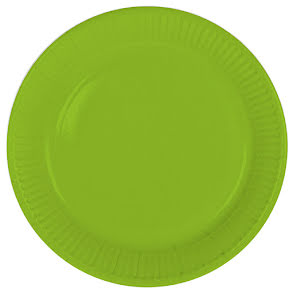 Tallrik, grön