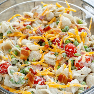 Ranch Pasta Salad With Peas Recipes