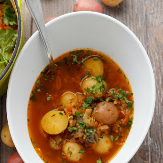 Simple Vegetable Soup Broth Recipes