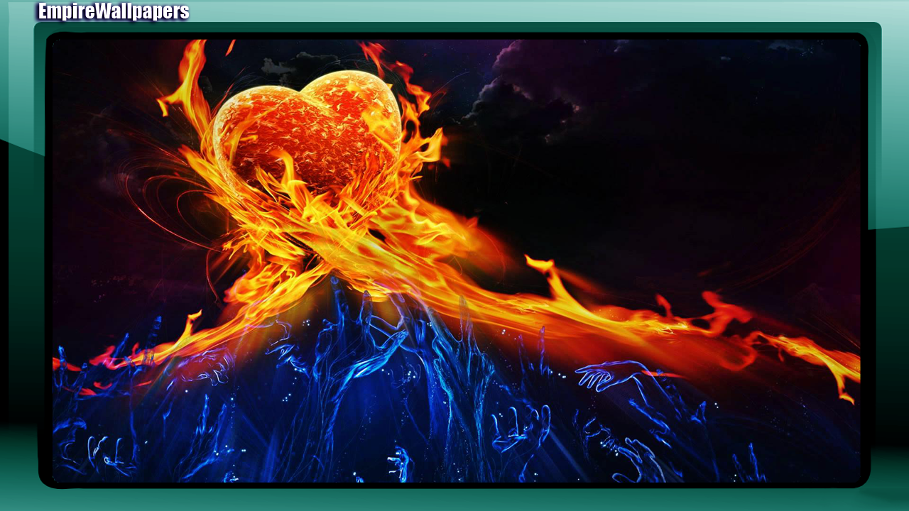 fire and ice wallpaper - android apps on google play