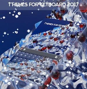Témata pro Keyboard 2017 - náhled