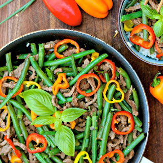 Weekday Asian Beef and Green Bean Stir-Fry #WeekdaySupper