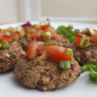 Kidney Bean and Walnut Burgers.