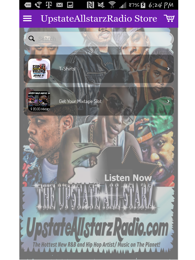 UpstateAllstarzRadio App- screenshot