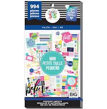 Me & My Big Ideas Happy Planner Sticker Value Pack - Mini Faith
