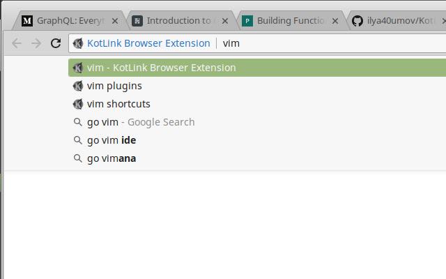 KotLink Browser Extension