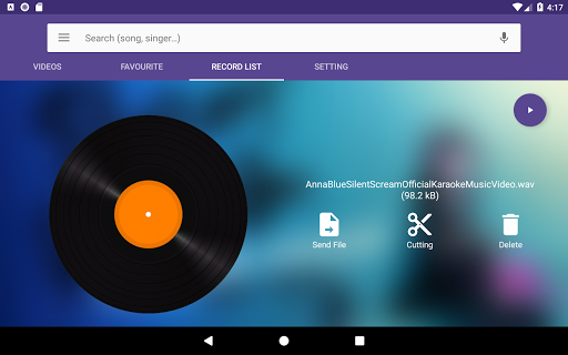 Karaoke Lite : Sing & Record Free 1.13 9