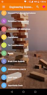 Engineering Economics Pro - náhled