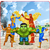 Multi Superheroes kids VS Villain Battle APK