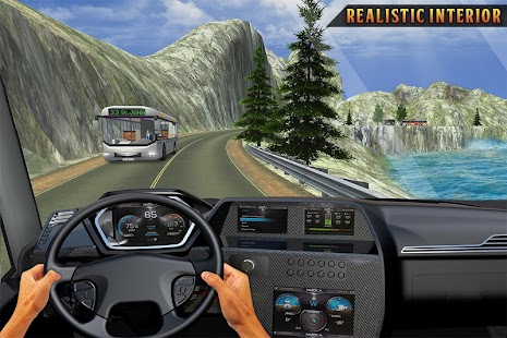Mountain Bus Uphill Drive: Free Bus Games