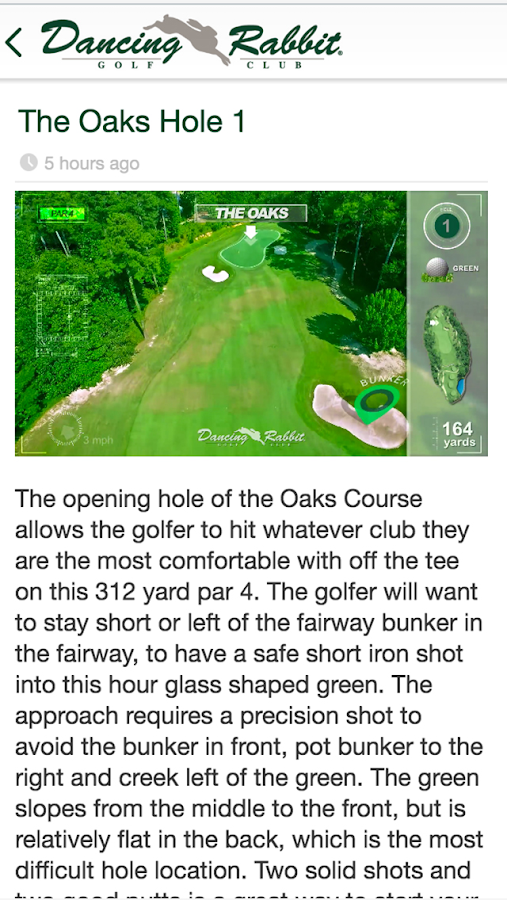 Dancing Rabbit Golf Course- screenshot