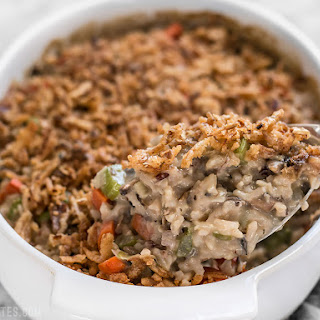 Wild Rice and Vegetable Casserole.