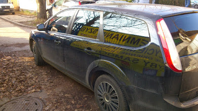 Photo: Ford Fokus kombi przyciemnianie szyb, oklejanie ,zmiana koloru auta , plastidip , foliowanie szyb promocje cenowe i symulator zapraszamy na www.venaplex.pl