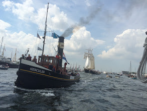 Photo: Sail Amsterdam (Sail In parade 19-08-'15) Foto: Dhr. H. Stassen