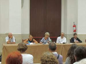 tavolo relatori