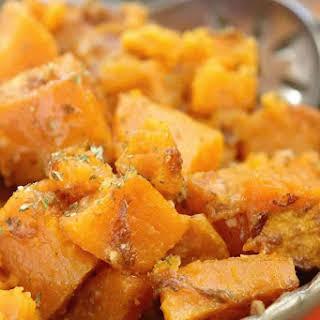 Parmesan Crock Pot Sweet Potatoes.