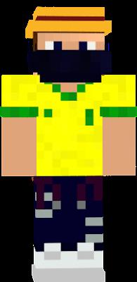 marionete,chapeu,camisa do brasil,calça down e sapato branco