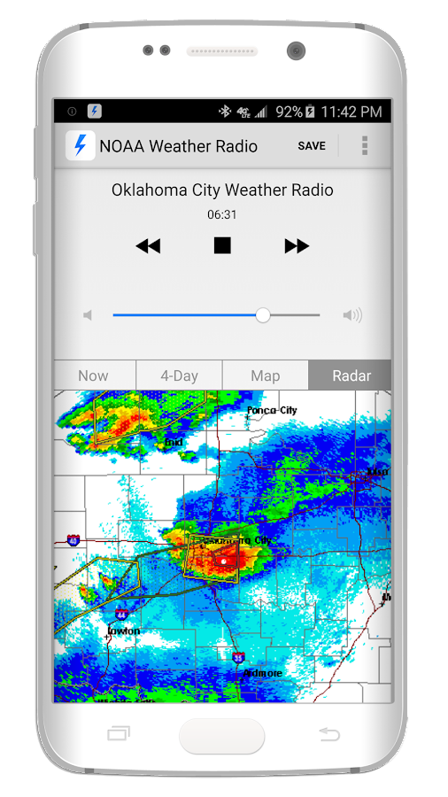 NOAA Weather Radio- screenshot