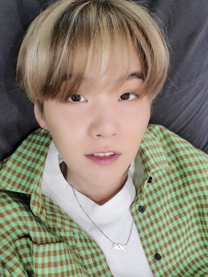 (BOTD:3) BTS Rapper Suga, Encourages ARMY to Vote as he Already Voted in Advance