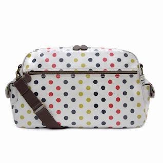 Polka Baby Changing Bag
