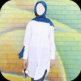 Selfie Hijab Photo Montage