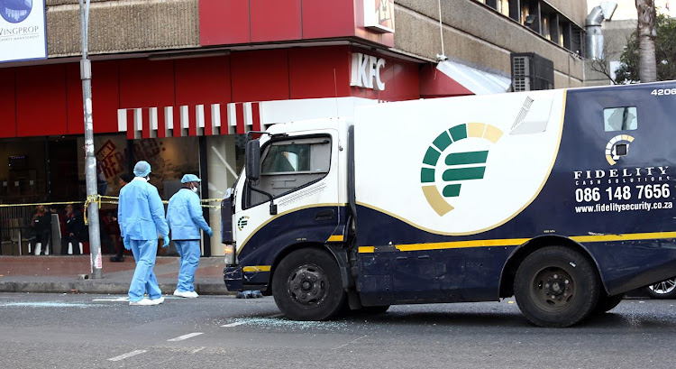 Zakhele Zondi and Bheki Biyela have denied being involved in the cash-in-transit heist in Soweto.