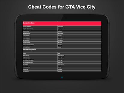 gta vice city cheats
