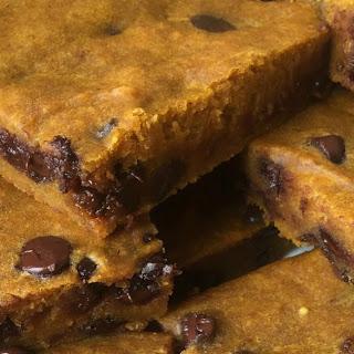 Pumpkin Chocolate Chip Brownies.