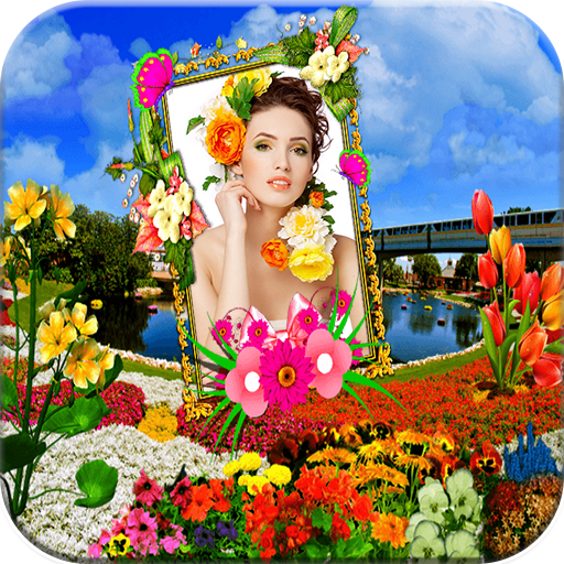 攝影App|Flowers Photo Frames LOGO-3C達人阿輝的APP